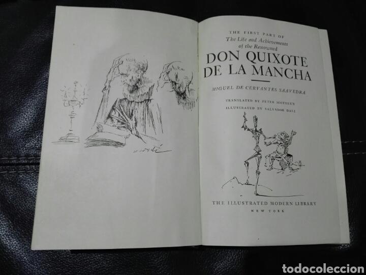 Libros de segunda mano: Miguel de Cervantes. DON QUIJOTE. Ilustrado por Salvador Dalí. 1946. Primera edición Modern Library - Foto 7 - 183961655