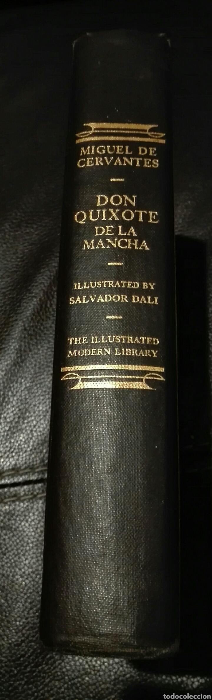 MIGUEL DE CERVANTES. DON QUIJOTE. ILUSTRADO POR SALVADOR DALÍ. 1946. PRIMERA EDICIÓN MODERN LIBRARY (Libros de Segunda Mano (posteriores a 1936) - Literatura - Otros)