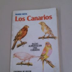 Libros de segunda mano: LOS CANARIOS. Lote 183964371