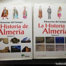 Libros de segunda mano: LA HISTORIA DE ALMERIA - 2 TOMOS TAPAS DURAS GRAN FORMATO. Lote 183965853