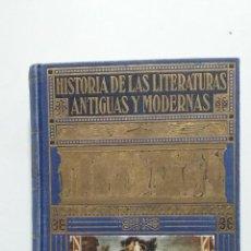 Libros de segunda mano: HISTORIA DE LAS LITERATURAS ANTIGUAS Y MODERNAS. RAMÓN SOPENA 1950. RAMON D. PERES. TDK423. Lote 183983215