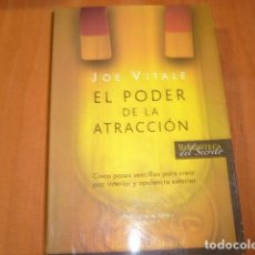 Libros de segunda mano: EL PODER DE LA ATRACCION , JOE VITALE. Lote 183994231