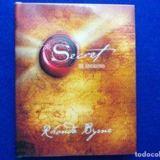 Libros de segunda mano: TÍTULO: EL SECRETO. AUTOR: RHONDA BYRNE.. Lote 183994308