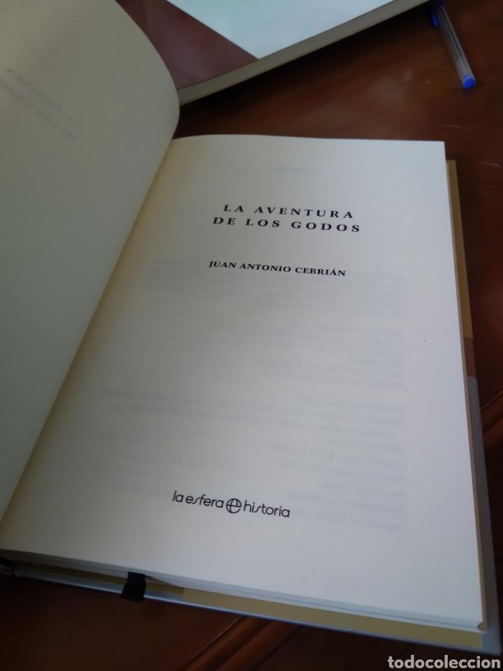 Libros de segunda mano: LA AVENTURA DE LOS GODOS. JUAN ANTONIO CEBRIÁN - Foto 2 - 184000148