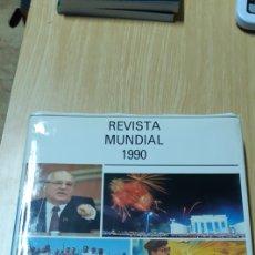 Libros de segunda mano: REVISTA MUNDIAL 1990 TODOS LOS HECHOS RELEVANTES A NIVEL MUNDIAL SUCEDIDOS EN 1990. Lote 184004666