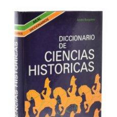 Libros de segunda mano: DICCIONARIO DE CIENCIAS HISTÓRICAS - BURGUIÈRE, ANDRÉ. Lote 184005721