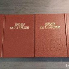 Libros de segunda mano: HISTORIA MUNDIAL DE LA MUJER 4 TOMOS (COMPLETA) ED. GRIJALBO. Lote 184006796