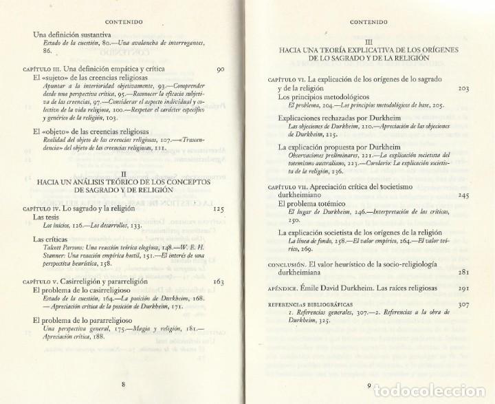 Libros de segunda mano: LO SAGRADO. DEL MUNDO ARCAICO A LA MODERNIDAD, José A. Prades - Foto 4 - 184064057