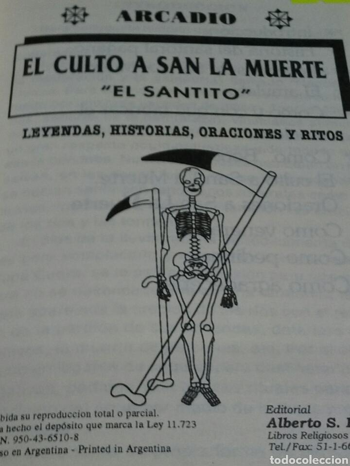 Libros de segunda mano: SANTA MUERTE LIBRETO. - Foto 2 - 184082751