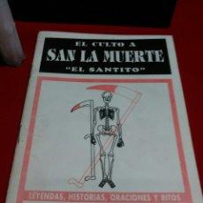 Libros de segunda mano: SANTA MUERTE LIBRETO.. Lote 184082751