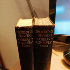 Libros de segunda mano: OBRAS COMPLETAS QUEVEDO AGUILAR 5A. EDICIÓN. Lote 184084730