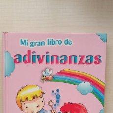 Libros de segunda mano: MI GRAN LIBRO DE LAS ADIVINANZAS. LUCRECIA PERSICO. LIBSA, 2008.. Lote 184095185