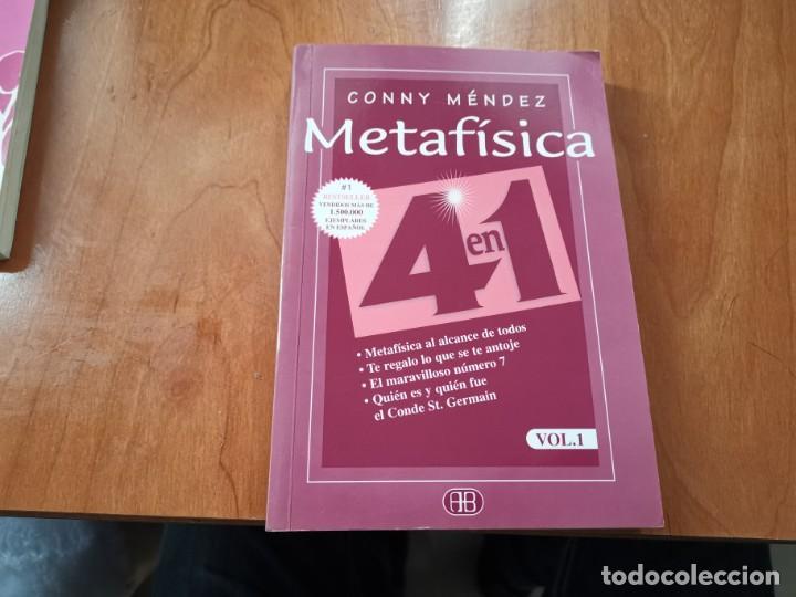 METAFÍSICA 4 EN 1 VOL 1 CONNY MÉNDEZ 2006 (Libros de Segunda Mano - Parapsicología y Esoterismo - Otros)