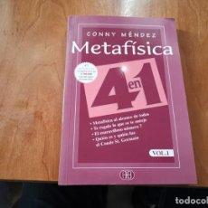 Libros de segunda mano: METAFÍSICA 4 EN 1 VOL 1 CONNY MÉNDEZ 2006. Lote 184110808