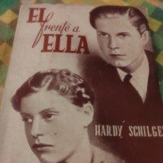 Libros de segunda mano: ÉL FRENTE A ELLA. HARDY SCHILGEN. Lote 184147855