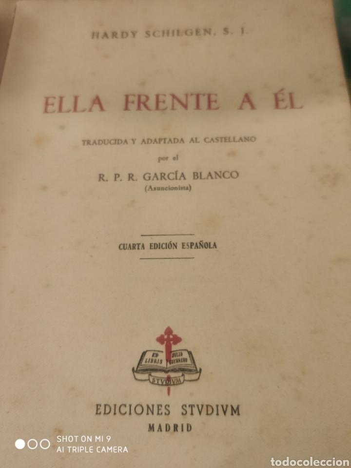Libros de segunda mano: Ella frente a él. Hardy Schilgen - Foto 2 - 184148121