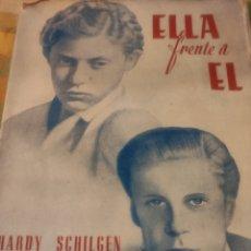 Libros de segunda mano: ELLA FRENTE A ÉL. HARDY SCHILGEN. Lote 184148121