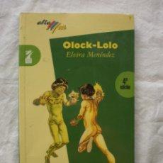 Libros de segunda mano: OLOCK - LOLO. Lote 184177906