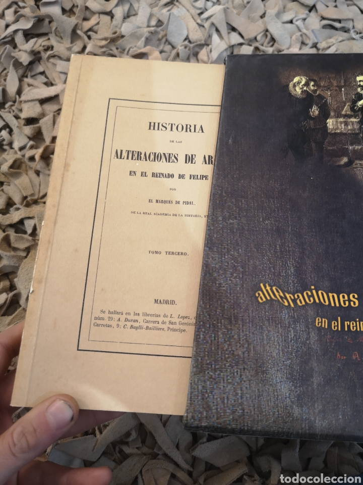 Libros de segunda mano: Marqués de Pidal, , historia de las alteraciones de Aragón en el reinado de Felipe II. Edición facs - Foto 4 - 184187605