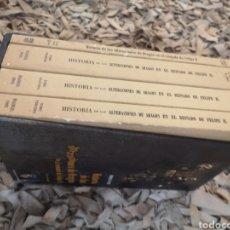 Libros de segunda mano: MARQUÉS DE PIDAL, , HISTORIA DE LAS ALTERACIONES DE ARAGÓN EN EL REINADO DE FELIPE II. EDICIÓN FACS. Lote 184187605