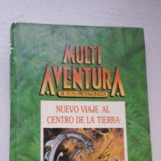 Libros de segunda mano: MULTIAVENTURA Nº1. NUEVO VIAJE AL CENTRO DE LA TIERRA. 1986. INGELEK. Lote 184215567
