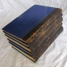 Libros de segunda mano: TINTORERÍA, ESTAMPADOS, APRESTOS Y QUÍMICA DE MATERIALES COLORANTES, V. MIRÓ, 5 TOMOS, 1916-1917. Lote 184269756