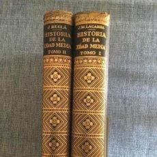 Libros de segunda mano: HISTORIA DE LA EDAD MEDIA. 2 TOMOS. JOSÉ Mª LACARRA Y DE MIGUEL-JUAN REGLÀ CAMPISTOL.. Lote 184285167