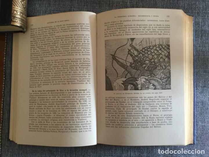 Libros de segunda mano: Historia de la Edad Media. 2 Tomos. José Mª Lacarra y de Miguel-Juan Reglà Campistol. - Foto 4 - 184285167
