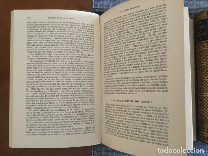 Libros de segunda mano: Historia de la Edad Media. 2 Tomos. José Mª Lacarra y de Miguel-Juan Reglà Campistol. - Foto 5 - 184285167