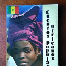 Libros de segunda mano: CUENTOS POPULARES AFRICANOS. JEAN COPANS. EDITORIAL FUNDAMENTOS, 1980. Lote 184291048