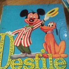 Libros de segunda mano: DESFILE DE WALT DISNEY. Lote 184297986