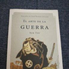 Libros de segunda mano: EL ARTE DE LA GUERRA - SUN TZU . EDICIÓN DE JOSÉ RAMÓN AYLLÓN.CLÁSICOS DE LA SABIDURÍA. Lote 184300818