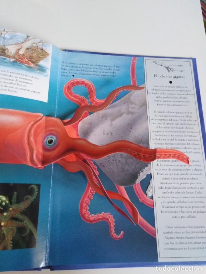 Libros de segunda mano: Animales nocturnos. Naturaleza viva. libro Pops-Up. David Taylor. ed. SM - Foto 9 - 184351813