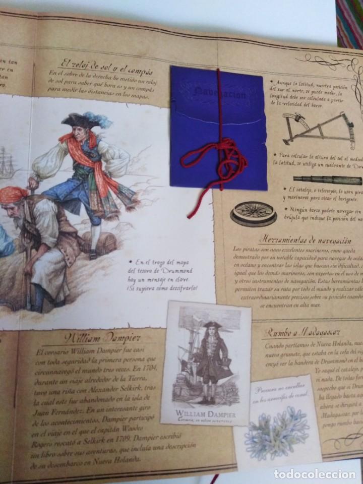 Libros de segunda mano: PIRATAS. Ed. Montena. - Foto 12 - 184352231