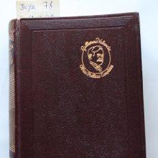 Libros de segunda mano: EDITORIAL AGUILAR - COLECCION JOYA - Nº 078 - OBRAS POETICAS COMPLETAS - GUILLERMO VALENCIA. Lote 184354713