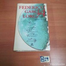Libros de segunda mano: FEDERICO GARCÍA LORCA. Lote 184399271