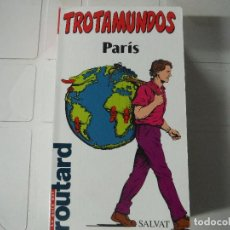 Libri di seconda mano: GUIA TROTAMUNDOS PARIS. Lote 184420106