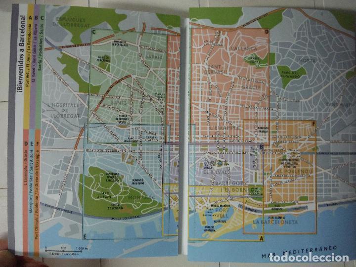 Libros de segunda mano: GUIA PLANO BARCELONA - Foto 2 - 184421126