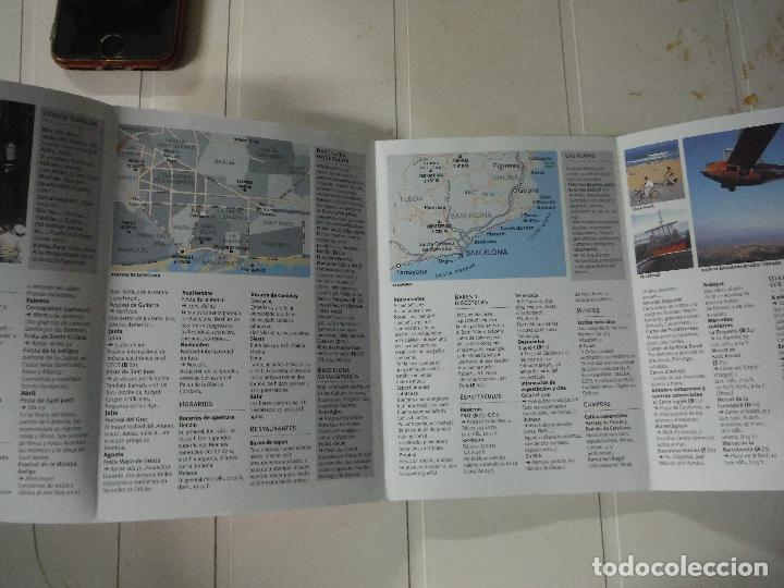 Libros de segunda mano: GUIA PLANO BARCELONA - Foto 3 - 184421126
