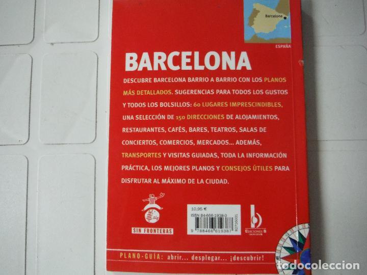 Libros de segunda mano: GUIA PLANO BARCELONA - Foto 4 - 184421126