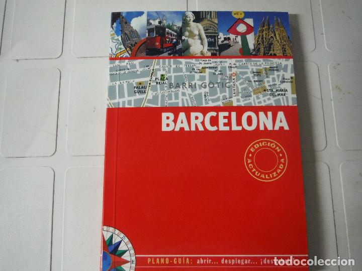 GUIA PLANO BARCELONA (Libros de Segunda Mano - Bellas artes, ocio y coleccionismo - Otros)