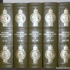 Libros de segunda mano: DICCIONARIO BOMPIANI DE AUTORES LITERARIOS 5 TOMOS COMPLETO. Lote 184443118