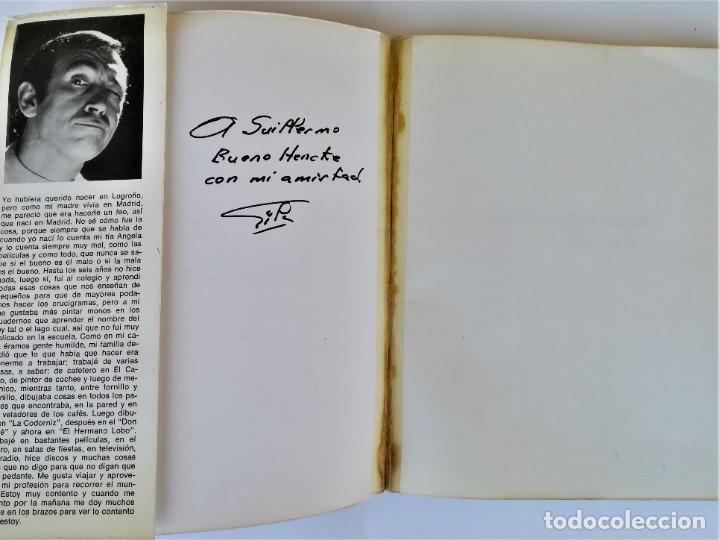 EL LIBRO ROJO DE GILA,AÑO1974,FIRMA Y DEDICATORIA DEL HUMORISTA,CHISTES ANTIBELICISTAS,HUMOR ESPAÑOL (Libros de Segunda Mano (posteriores a 1936) - Literatura - Otros)