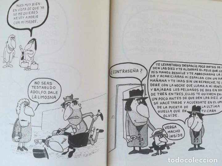Libros de segunda mano: EL LIBRO ROJO DE GILA,AÑO1974,FIRMA Y DEDICATORIA DEL HUMORISTA,CHISTES ANTIBELICISTAS,HUMOR ESPAÑOL - Foto 5 - 184454090