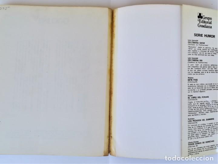 Libros de segunda mano: EL LIBRO ROJO DE GILA,AÑO1974,FIRMA Y DEDICATORIA DEL HUMORISTA,CHISTES ANTIBELICISTAS,HUMOR ESPAÑOL - Foto 7 - 184454090