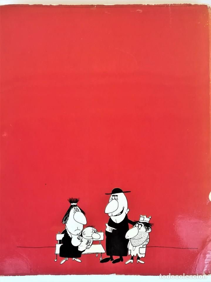 Libros de segunda mano: EL LIBRO ROJO DE GILA,AÑO1974,FIRMA Y DEDICATORIA DEL HUMORISTA,CHISTES ANTIBELICISTAS,HUMOR ESPAÑOL - Foto 8 - 184454090