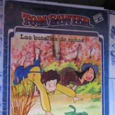 Libros de segunda mano: LIBRO Nº 3 LAS BATALLAS DE RANAS DE TOM SAYER EDICIONES FHER ILUSTRADO AÑO 1981. Lote 184455085