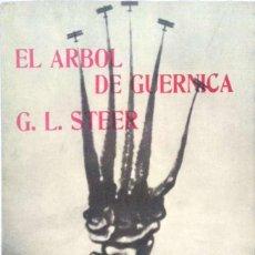 Libros de segunda mano: G.L. STEER. EL ÁRBOL DE GUERNICA. MADRID. 1978.. Lote 184489403
