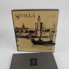 Libros de segunda mano: L-957. SEVILLA, VICTOR PEREZ ESCOLANO.FOTOGRAFIAS DE RAMON MASATS. ED. LUNWERG, BARCELONA.1989.. Lote 184546462
