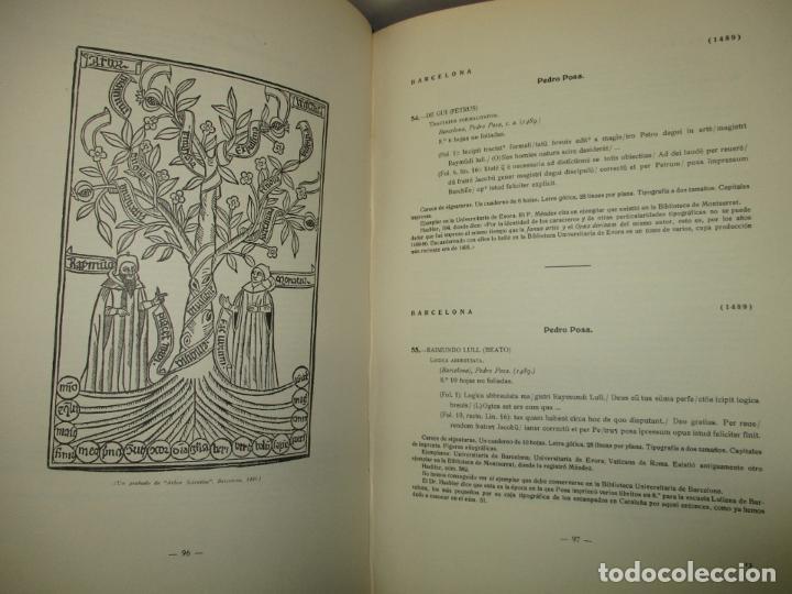 Libros de segunda mano: EL ARTE TIPOGRÁFICO EN CATALUÑA DURANTE EL SIGLO XV. VINDEL, Francisco. 1945. - Foto 5 - 184553056